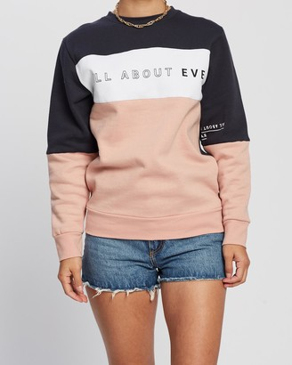 All About Eve Heritage Crew Sweater