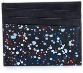 Maison Margiela paint splatter card holder