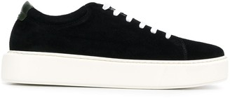 Low Brand Lace-Up 55mm Platform Sneakers