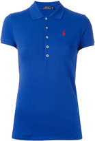 Polo Ralph Lauren logo polo shirt - women - Cotton/Spandex/Elastane - S
