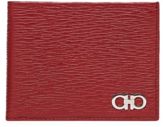 Salvatore Ferragamo Revival Bi-Fold Leather Wallet