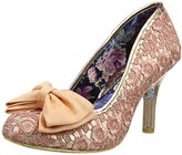 Irregular Choice Women's Mal E Bow Closed-Toe Pumps,42 EU