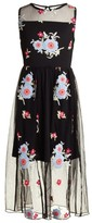Trixxi Girl's Floral Embroidered Dress