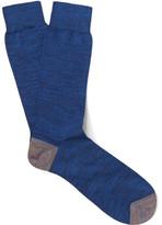 Paul Smith Mélange Cotton-Blend Socks