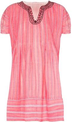 Lemlem Wubet vertical-stripe smock dress