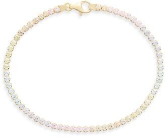 Adina's Jewels Pastel Rainbow Tennis Bracelet