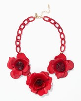 Charming charlie Romantic Rose Necklace