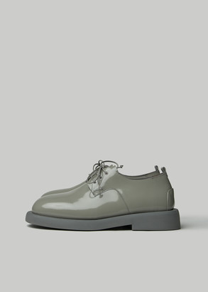 MARSELL Gomme Women's Gomello Derby Shoes in Grey Size 36 Leather