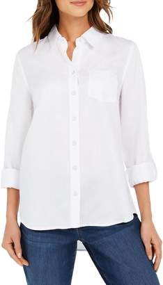Style&Co. Style & Co. Petite Spread Collar Shirt