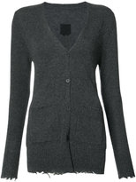 RtA 'Andre' distressed cardigan - women - Cashmere - XS