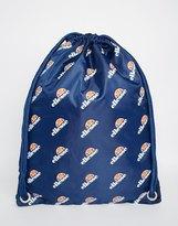 Ellesse Ellesse Logo Drawstring Backpack - Blue