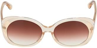 Chimi Fawn Round Acetate Sunglasses