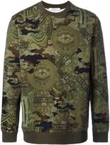 Givenchy camouflage print sweatshirt