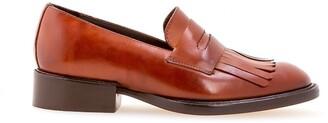 Sarah Chofakian fringed loafers