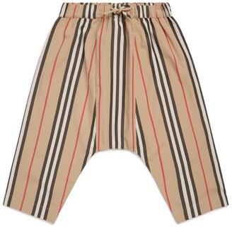 Burberry Kids Stripe Trousers
