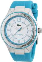 Lacoste Women's Biarritz 2000757 Blue Silicone Analog Quartz Watch with Dial