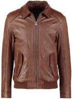 Oakwood Trading Leather Jacket Tobacco