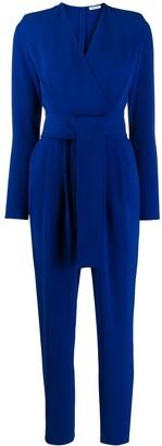 P.A.R.O.S.H. tie waist jumpsuit