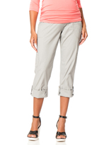 Motherhood Secret Fit Belly Convertible Cargo Maternity Pants