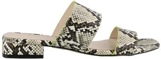 KENDALL + KYLIE Kahlie Snake Sandals