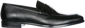 Prada Block Heel Moccasins