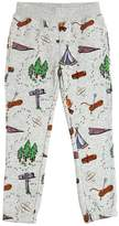 Stella McCartney Forest Printed Organic Cotton Sweatpants