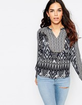 Vero Moda Maffi May Boho Print Top