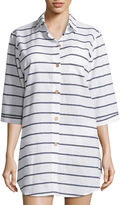 A.N.A a.na Stripe Shirt Dress