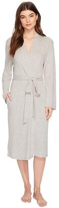 N by Natori Soho Brush Robe (Aqua Mist) Women's Pajama