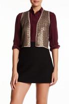 Zadig & Voltaire Dublin Deluxe Sequined Wool Blend Vest