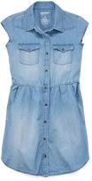 Arizona Sleeveless Shirt Dress - Big Kid Girls