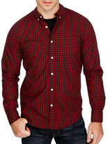 Lucky Brand Washed Black Label Checked Sportshirt