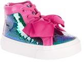 Jo-Jo Jojo Siwa Toddler Girls' Mermaid Reverse Sequin High Top Sneakers