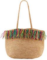 Buji Baja Gypset Woven Raffia Tote Bag
