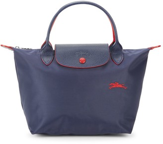 Longchamp Foldable Nylon Top Handle Bag