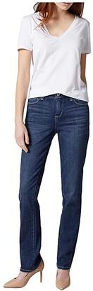 Jag Jeans Ruby Straight Leg Jeans (Seaport Blue) Women's Jeans