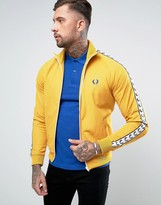 Fred Perry Sports Authentic Track Jacket In Yellow