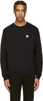 MSGM Black Dice Patch Pullover