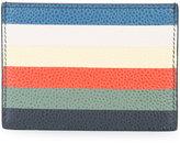 Thom Browne stripe cardholder - men - Leather - One Size
