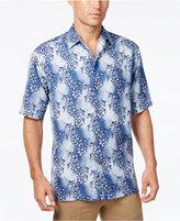 Tommy Bahama Men's Cubano Cascade Floral-Print Silk Short-Sleeve Shirt