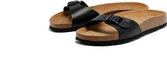 Grand Step Shoes - Linda Slide Black - 37