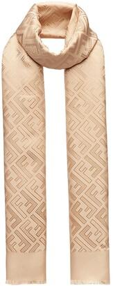 Fendi FF motif scarf