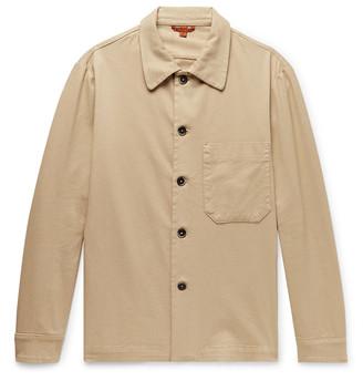 Barena Stretch-Cotton Twill Shirt Jacket