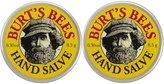 Burt's Bees Hand Salve, Mini - 0.3 oz - 2 pk