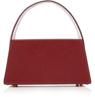 STAUD Caroline Leather Top Handle Bag