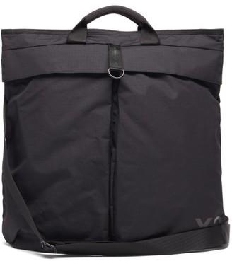 Y-3 Logo-print Shell Tote Bag - Black
