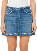 Frame LE STUDDED MINI SKIRT