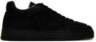 Etq Amsterdam Black Knitted LT 05 Sneakers