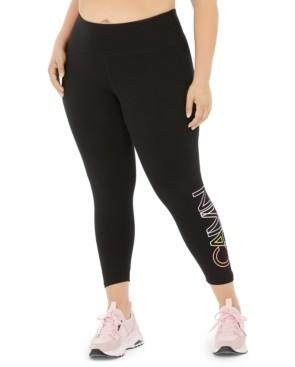 Calvin Klein Plus Size Outline Logo Leggings