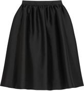 Karl Lagerfeld Melina satin-twill skirt